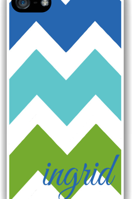 Big Time Chevron - Personalized iPhone 6 Case