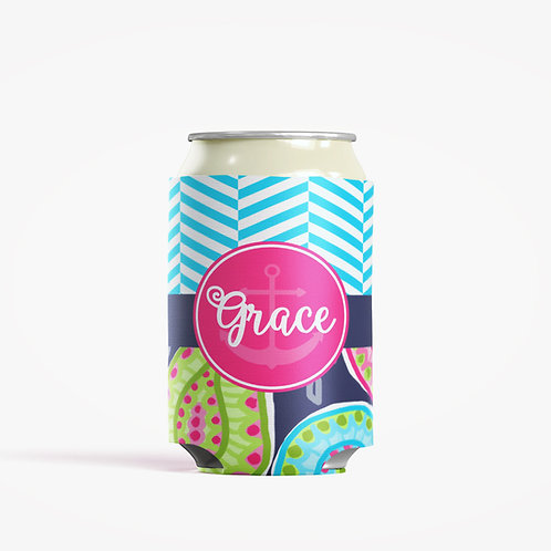 Paisley - Personalized Can Insulator Coolie