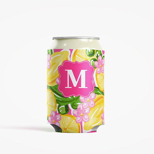 Beach Party - Personalized Can Insulator Coolie