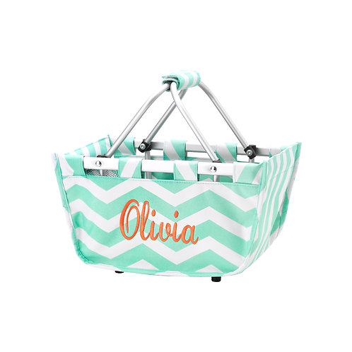 Personalized Embroidered Market Mini Totes