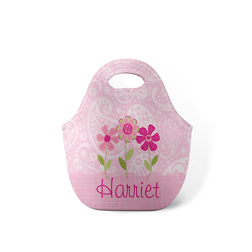 Summer Daisy - Personalized Lunch Tote