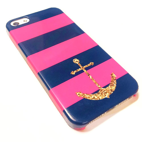 Anchor - iPhone Wrap Around Cell Phone Case