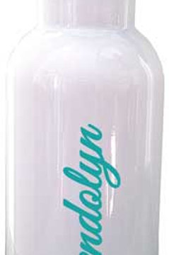 Hibiscus - Personalized Water Bottle Item #WB28