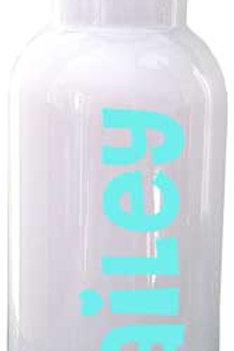 Heart - Personalized Water Bottle Item #WB26