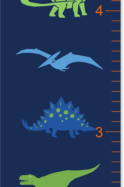 Dinosaur - Personalized Growth Chart