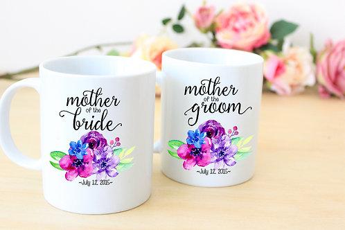 Mother of the Bride - Ceramic Coffee Mug Set