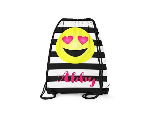 Emoji Love - Personalized Draw String Bag