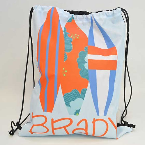 Surfer - Personalized Draw String Bag