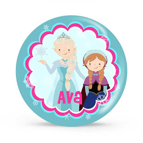 Frozen - Personalized Plate For Kids