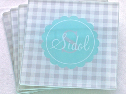 Patches - Personalized Glass Coasters