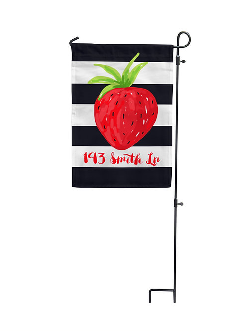 Strawberry - Garden Flag