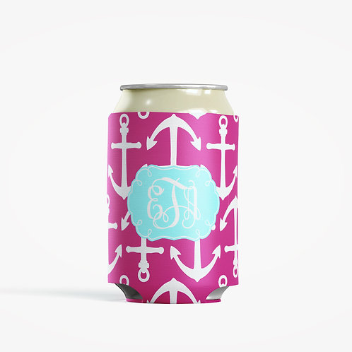 Anchors - Personalized Can Insulator Coolie