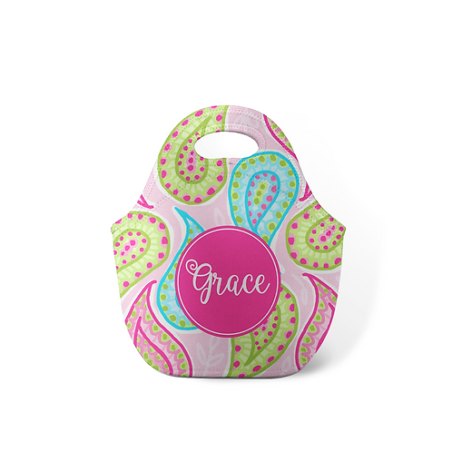Paisley - Personalized Lunch Tote