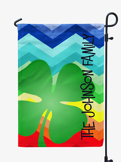 Shamrock - St. Patricks Day Garden Flag