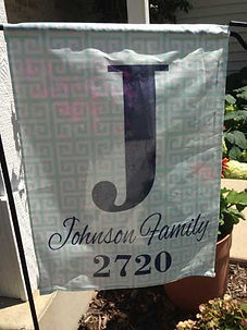 Personalized Garden Flags Personalized Yard Flags