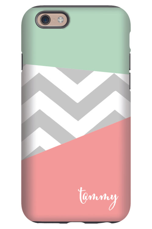 Tammy Chevron - Personalized iPhone 7 Case