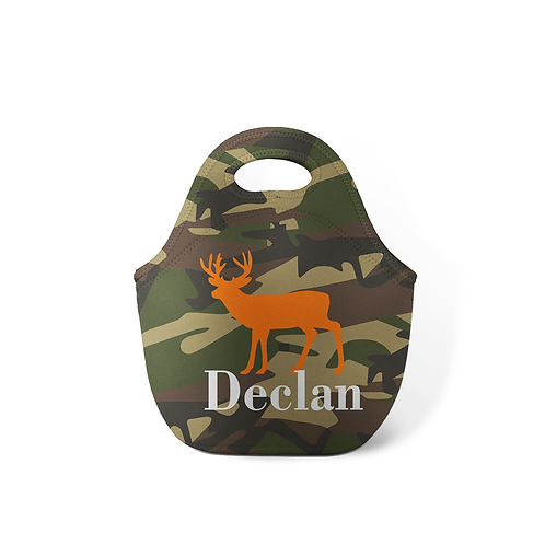 Deer - Personalized Lunch Tote