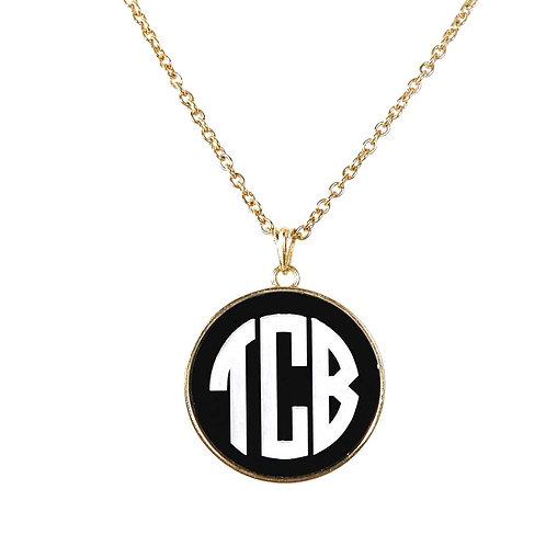 Charm Necklace - Personalized Monogram Jewerly