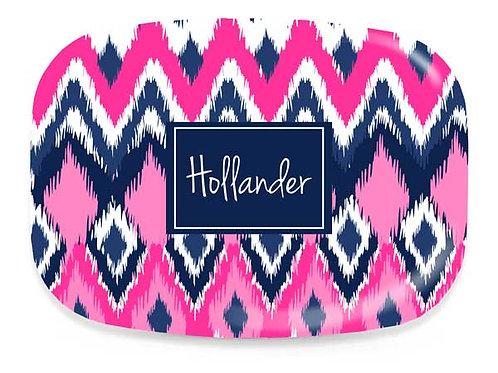 Pink iKat  - Personalized Platter