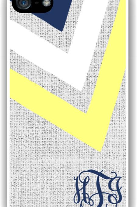 Linen Arrow - Personalized iPhone 6 Case