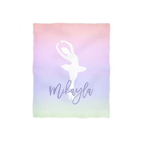 Dance Life - Personalized Throw Blanket