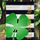 Thumbnail: Shamrock - St. Patricks Day Garden Flag