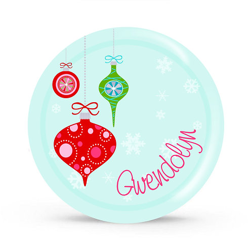 Ornaments - Personalized Christmas Plate