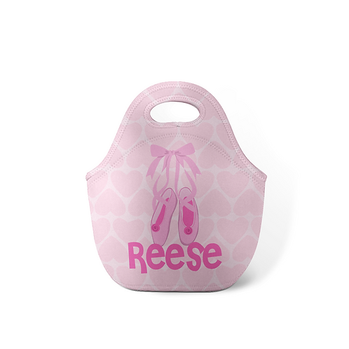 Little Ballerina - Personalized Lunch Tote