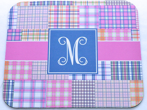 Plaid - Personalized Mouse Pads