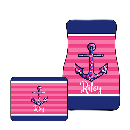 Anchor - Personalized Car Mats