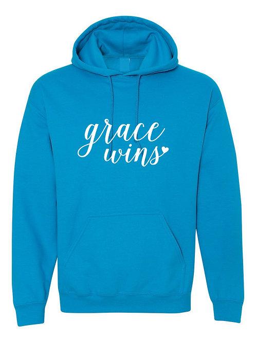 Grace Wins - Ultra Warm Hoodie | Tin Tree Gifts Apparel