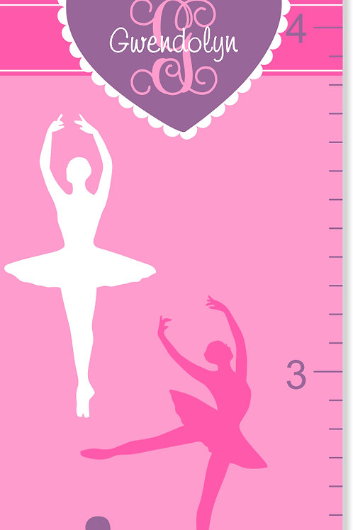 Ballerina - Personalized Growth Chart