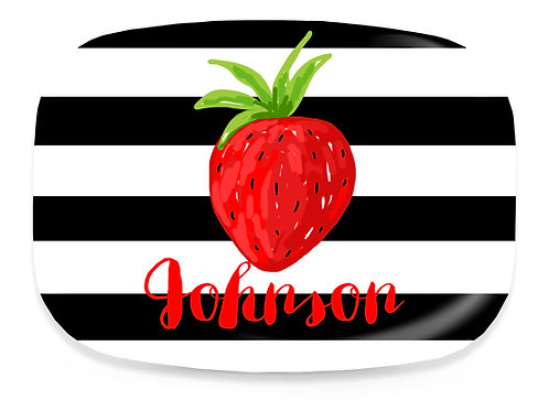 Strawberry Red - Personalized Grilling Platter