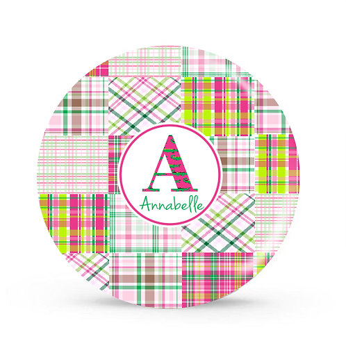 Patchwork - Personalized Plate For Kids