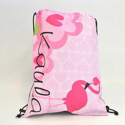 Flamingo - Personalized Draw String Bag