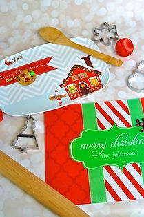 Personalized Christmas Housewares Personalized Christmas Gifts