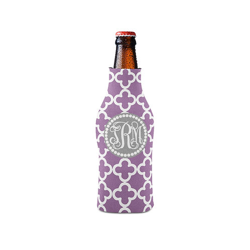 Purple Clubs - Personalized Bottle Insulator