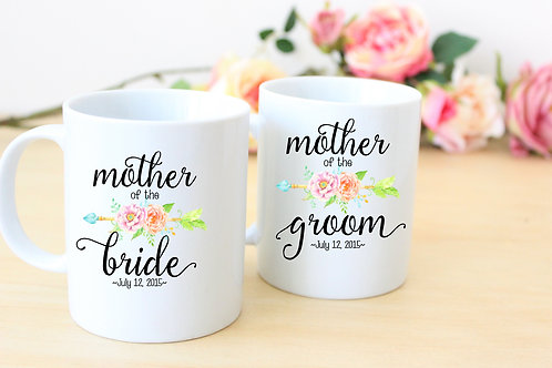 Mother of the Bride - Ceramic Coffee Mug Set