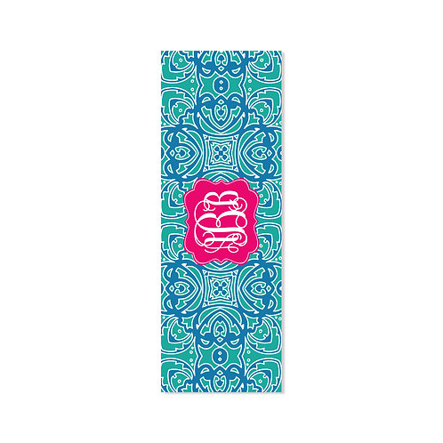 Damask  - Personalized Monogram Yoga Mat