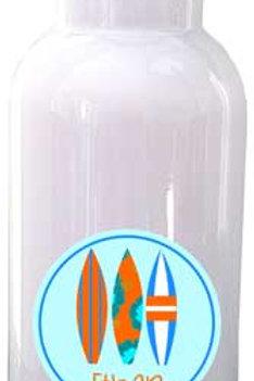 Surfer Boy - Personalized Water Bottle Item #WB32
