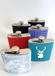 Stainless Steel Hip Flasks Personalized drinkware