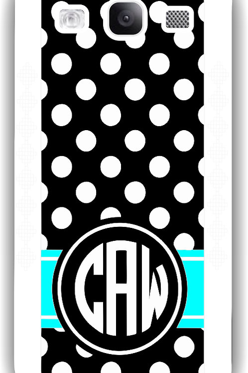 Midnight Dots - Personalized Galaxy S3 Case