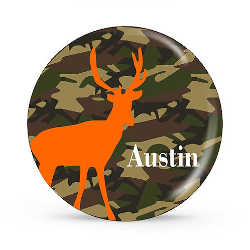 Hunter - Personalized Plate For Kids