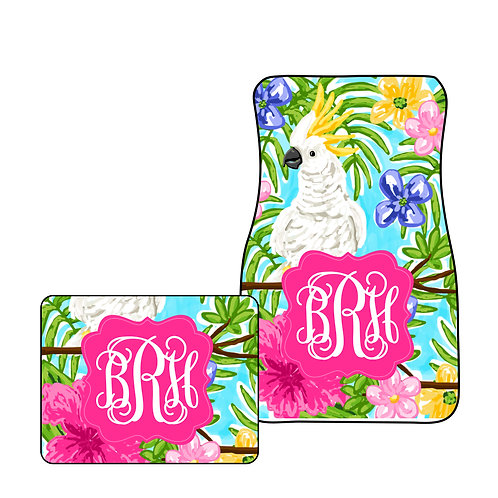 Cockatoo Beach - Personalized Car Mats