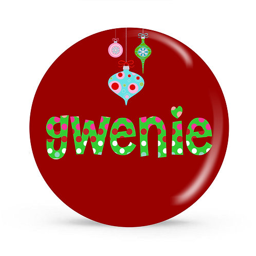 Ornament - Personalized Christmas Plate