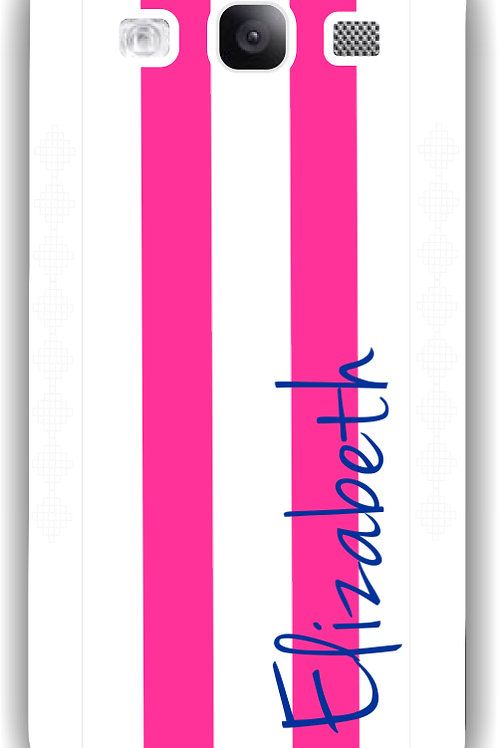 Hot Pink - Personalized Galaxy S3 Case