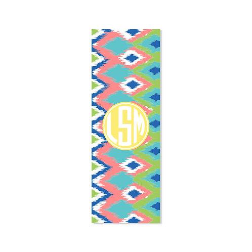 Ikat Southwest - Personalized Monogram Yoga Mat