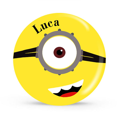 Minion - Personalized Plate For Kids