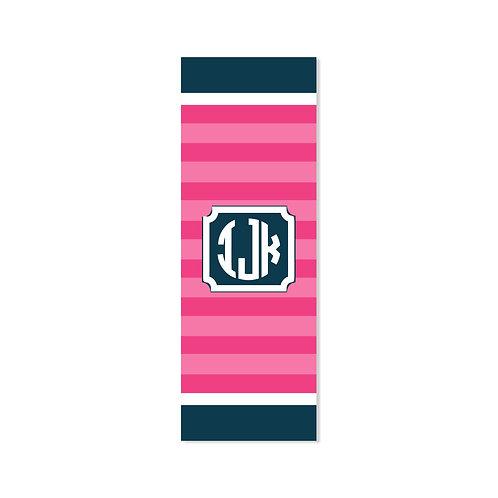 City Stripe - Personalized Monogram Yoga Mat