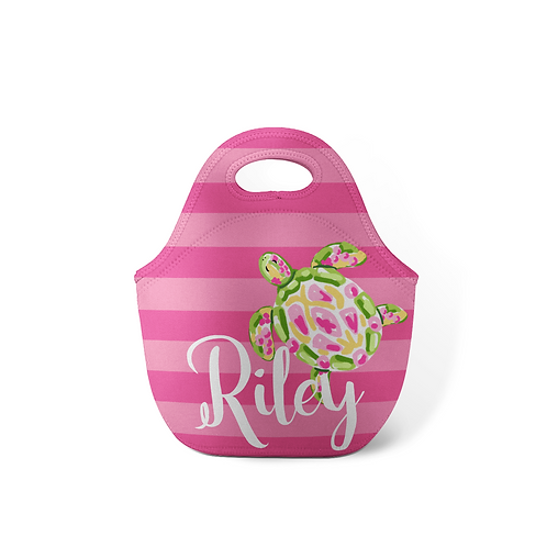 Turtle - Personalized Lunch Tote | Kids Lunch Box